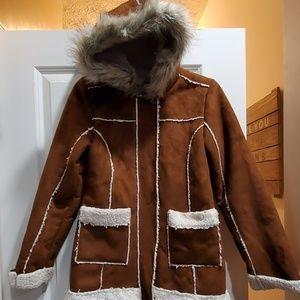 Justice winter coat